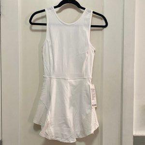 NWT Lululemon Serene Stride Dress in White